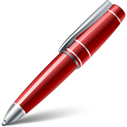 Red Pen Icon