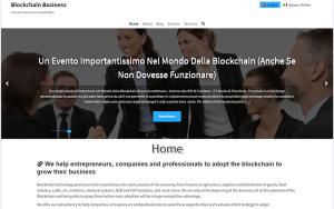 Screenshot Blockchain Business
